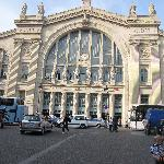 The Train Station in France