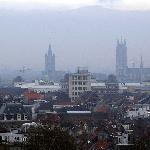 The four towers of Ghent