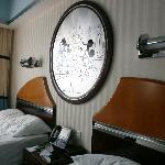 Bedside in room ... for kids just!