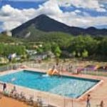 camping piscine + chateau gonflable