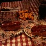 Hot Dog e Cheese Fries