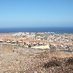 View of Caleta from Chipmunk Mountian