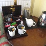 Tea / coffee choice
