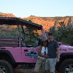 Pink Jeep photo op!
