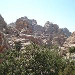 View at Little Petra