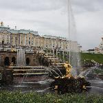 Samson's fountain
