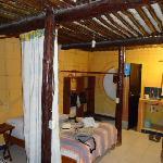 Interior cabaña