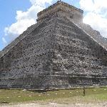 vista de la piramide