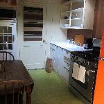 Cottage cabin kitchen