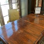 Original Godfather desk from Godfather 1 and 2 displayed at the New Coppola Winery.