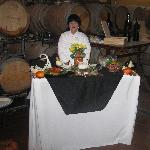 Intimate Wine Tour's caterer and picnics in the wine country at V. Madrone Cellars in the Napa V