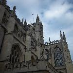 Bath Abbey. I was exhausted by the end of the day, so I didn't do the Roman baths museum. Instea