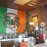 Irish pub on top floor