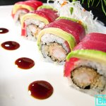 Chrismas Maki sushi medford