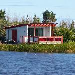 Studio Lodge across the lake