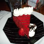 Between The Sheets Red Velvet cheesecake