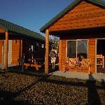 Outside cabin 25