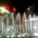 Wynn Macau's Performance Lake - show runs at 15 minutes' interval