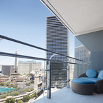 The Cosmopolitan of Las Vegas - Terrace Studio view