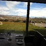 view to El Calafate from hotel