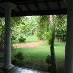 The gardens from our room