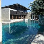 The Pool and Breeze Restaurant