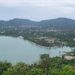 The east coast of Phuket is tranquil and not touristy like Patong
