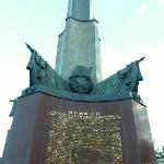 unveiled in 1945 and recently restored
