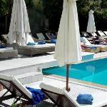 Pool side at La Piscine