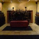 A reserve wine area
