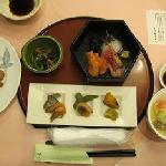 千里浜定食