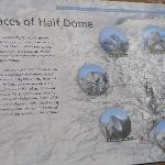 Half Dome information from Tunnel View stop