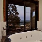 Tooralia cabin spa and balcony outlook