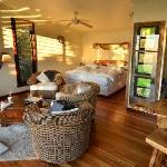 Tooralia cabin interior