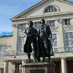 Schiller_Goethe Denkmal