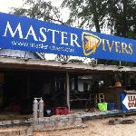Master Divers beach front