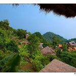 Vue golfe de Siam