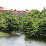 龍譚池と首里城
