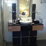 good, clean bathroom