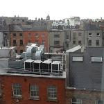 view of dublin from my room