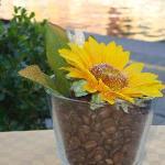 table's flower pot