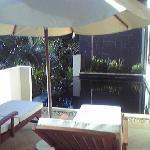 各部屋にあるプライベートプール。