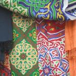 Cloth in Aswan market