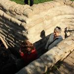 In the English Trenches