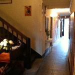 Entrance hall of Maison Bellachonne