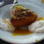 Deep Fried Key Lime Pie