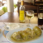 GiaGias stuffed cabbage leaves