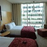 chambre 2 lits double