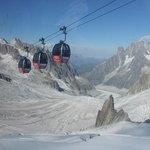 Going to Aigulle Du Midi