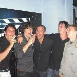 Sing on stage.....